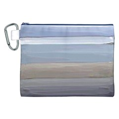 Painted Pompey Beach Canvas Cosmetic Bag (XXL)