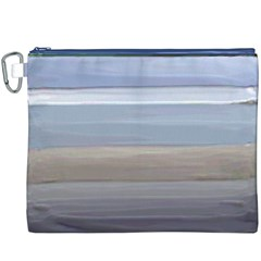 Painted Pompey Beach Canvas Cosmetic Bag (XXXL)