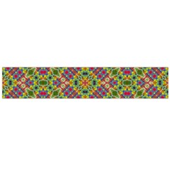 Multicolor Geometric Ethnic  Flano Scarf (Large)