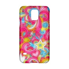 Hippy Peace Swirls Samsung Galaxy S5 Hardshell Case