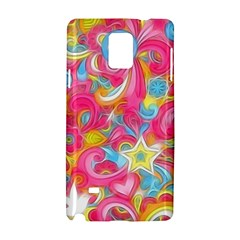 Hippy Peace Swirls Samsung Galaxy Note 4 Hardshell Case