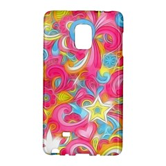 Hippy Peace Swirls Samsung Galaxy Note Edge Hardshell Case