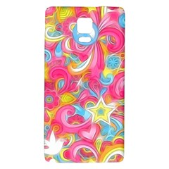 Hippy Peace Swirls Samsung Note 4 Hardshell Back Case