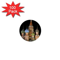 Saint Basil s Cathedral  1  Mini Button (100 Pack)