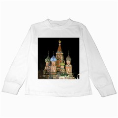 Saint Basil s Cathedral  Kids Long Sleeve T Shirt