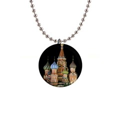 Saint Basil s Cathedral  Button Necklace