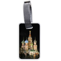 Saint Basil s Cathedral  Luggage Tag (two Sides)