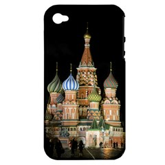 Saint Basil s Cathedral  Apple Iphone 4/4s Hardshell Case (pc+silicone)