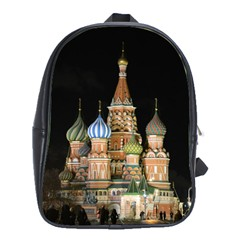 Saint Basil s Cathedral  School Bag (xl)