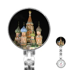Saint Basil s Cathedral  Stainless Steel Nurses Watch
