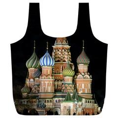 Saint Basil s Cathedral  Reusable Bag (XL)