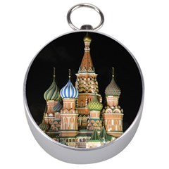 Saint Basil s Cathedral  Silver Compass