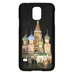 Saint Basil s Cathedral Samsung Galaxy S5 Case (Black)