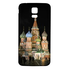 Saint Basil s Cathedral  Samsung Galaxy S5 Back Case (white)