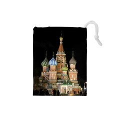 Saint Basil s Cathedral  Drawstring Pouch (small)