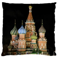 Saint Basil s Cathedral  Large Flano Cushion Case (two Sides)