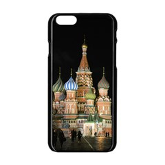 Saint Basil s Cathedral  Apple iPhone 6 Black Enamel Case