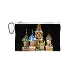 Saint Basil s Cathedral  Canvas Cosmetic Bag (Small)