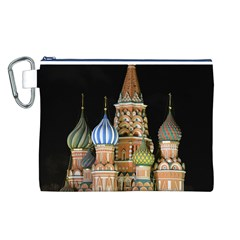 Saint Basil s Cathedral  Canvas Cosmetic Bag (Large)
