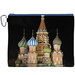 Saint Basil s Cathedral  Canvas Cosmetic Bag (xxxl)