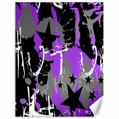 Purple Scene Kid Canvas 18  X 24  (unframed)