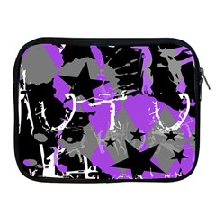 Purple Scene Kid Apple Ipad Zippered Sleeve