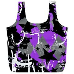 Purple Scene Kid Reusable Bag (xl)
