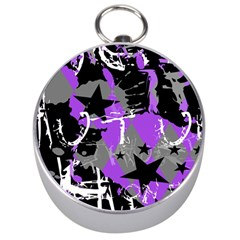 Purple Scene Kid Silver Compass