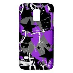 Purple Scene Kid Samsung Galaxy S5 Mini Hardshell Case