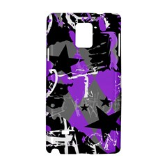 Purple Scene Kid Samsung Galaxy Note 4 Hardshell Case