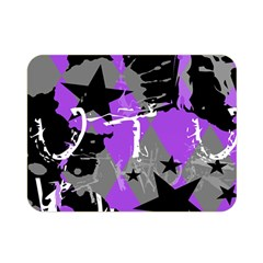 Purple Scene Kid Double Sided Flano Blanket (mini)
