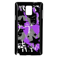 Purple Scene Kid Samsung Galaxy Note 4 Case (black)