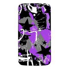 Purple Scene Kid Samsung Galaxy Mega I9200 Hardshell Back Case