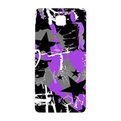 Purple Scene Kid Samsung Galaxy Alpha Hardshell Back Case