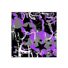 Purple Scene Kid Satin Bandana Scarf