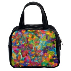 Colorful Autumn Classic Handbag (two Sides)