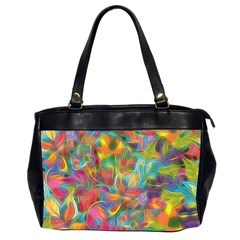 Colorful Autumn Oversize Office Handbag (two Sides)
