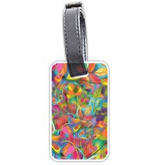 Colorful Autumn Luggage Tag (two Sides)