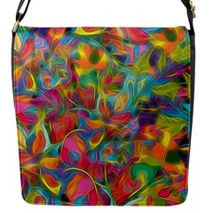 Colorful Autumn Flap Closure Messenger Bag (small)