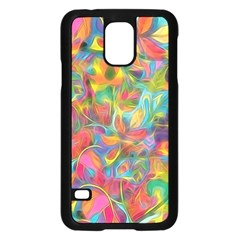 Colorful Autumn Samsung Galaxy S5 Case (Black)