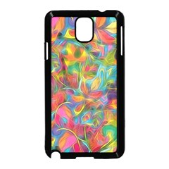 Colorful Autumn Samsung Galaxy Note 3 Neo Hardshell Case (Black)