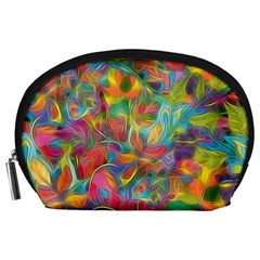 Colorful Autumn Accessory Pouch (Large)