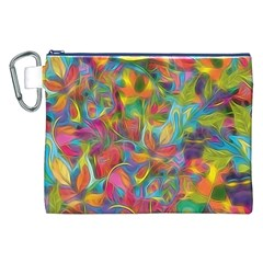 Colorful Autumn Canvas Cosmetic Bag (XXL)