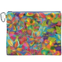 Colorful Autumn Canvas Cosmetic Bag (XXXL)