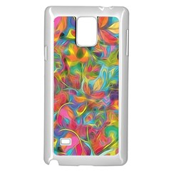 Colorful Autumn Samsung Galaxy Note 4 Case (White)
