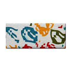 Colorful Paint Stokes Hand Towel