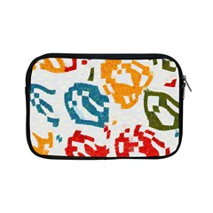 Colorful Paint Stokes Apple Ipad Mini Zipper Case