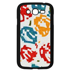 Colorful Paint Stokes Samsung Galaxy Grand Duos I9082 Case (black)