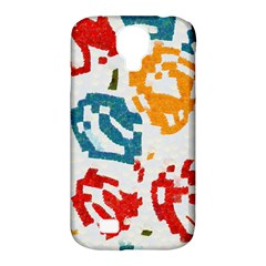 Colorful Paint Stokes Samsung Galaxy S4 Classic Hardshell Case (pc+silicone)