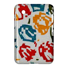 Colorful Paint Stokes Samsung Galaxy Tab 2 (7 ) P3100 Hardshell Case